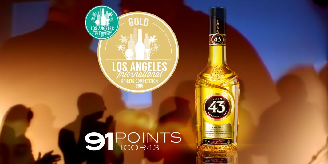 Licor 43 wint Gouden Medaille!