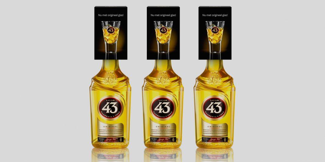 Origineel Licor 43 Glas Cadeau